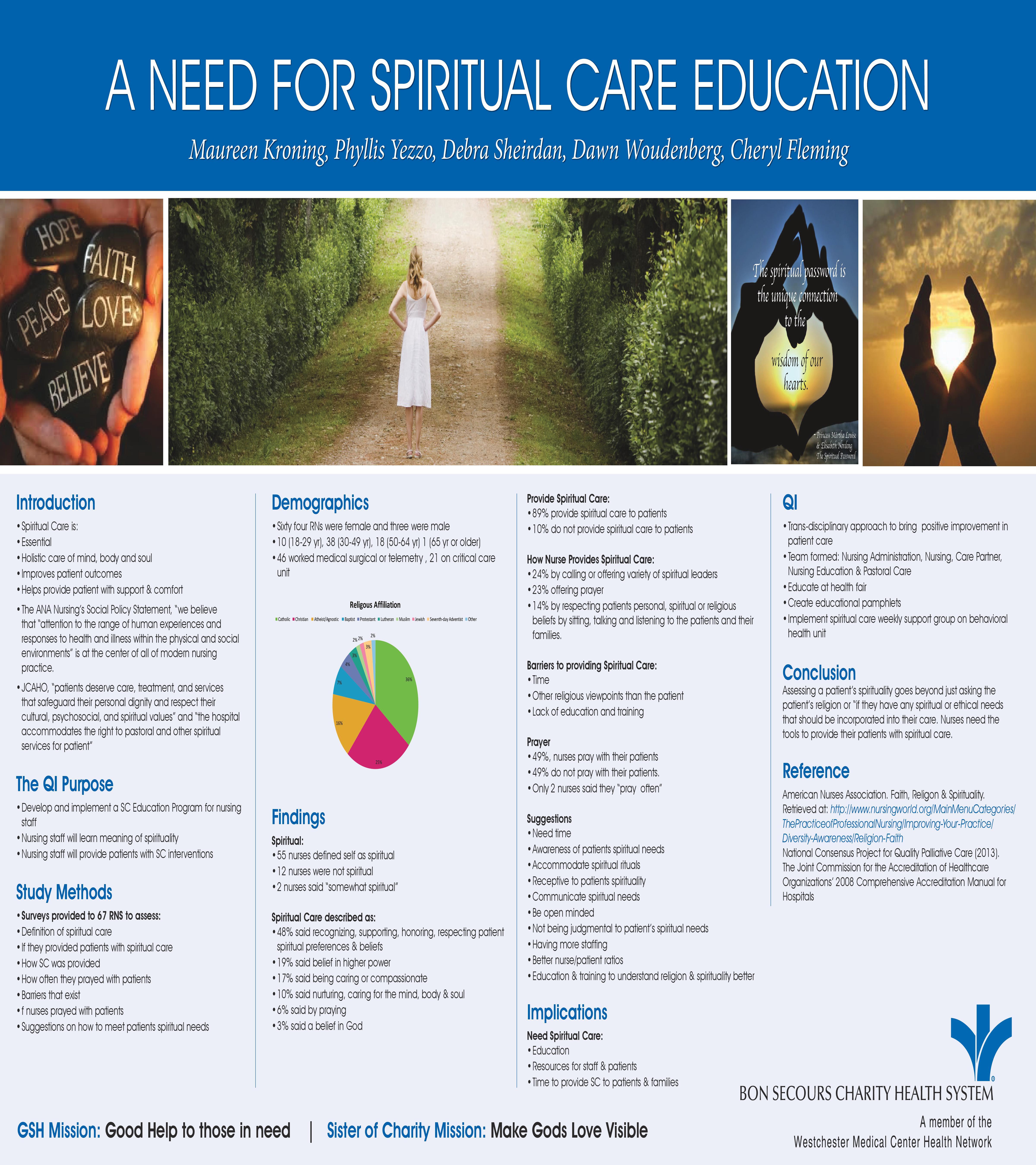 SpiritualCare Poster
