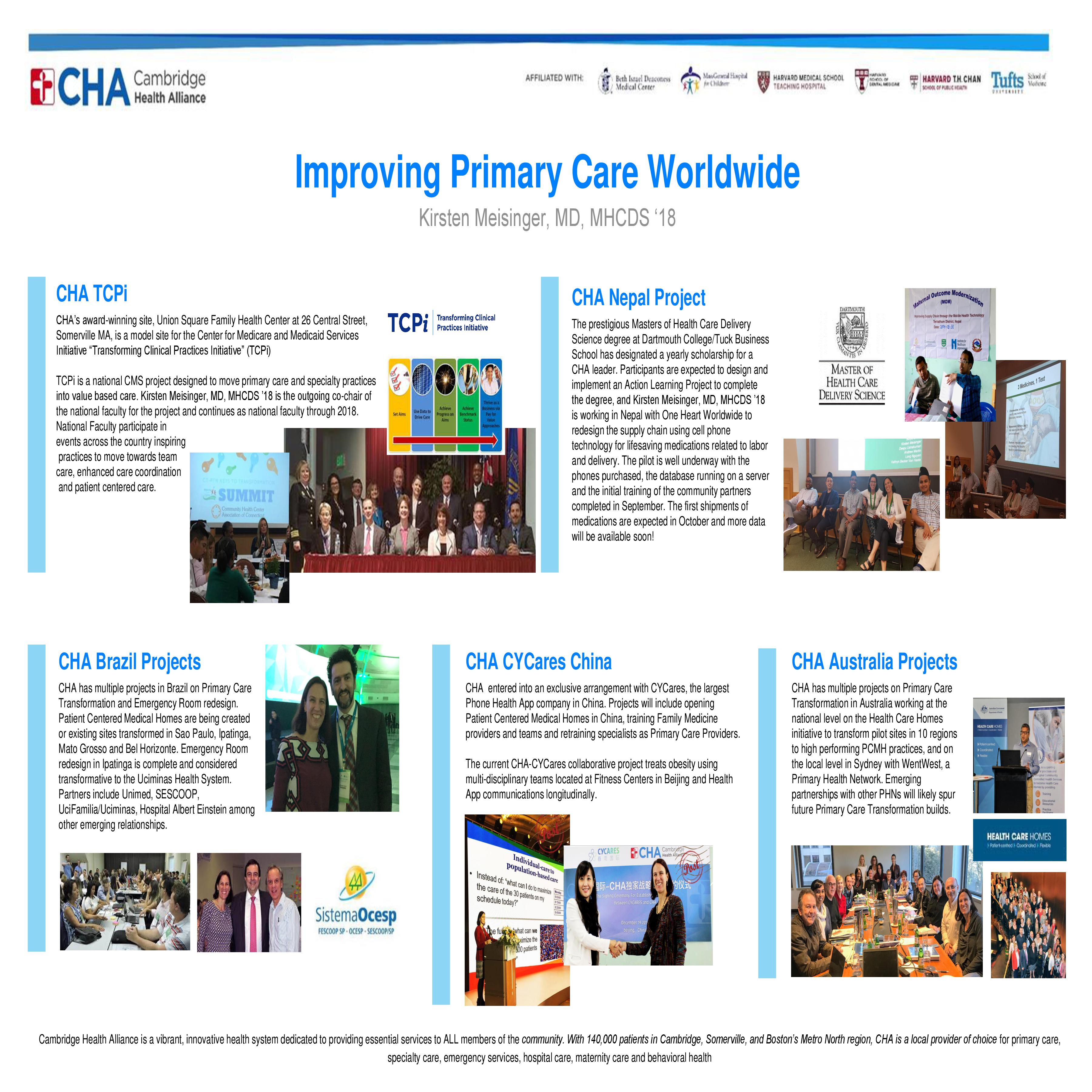 Improving Primary Care Worldwide