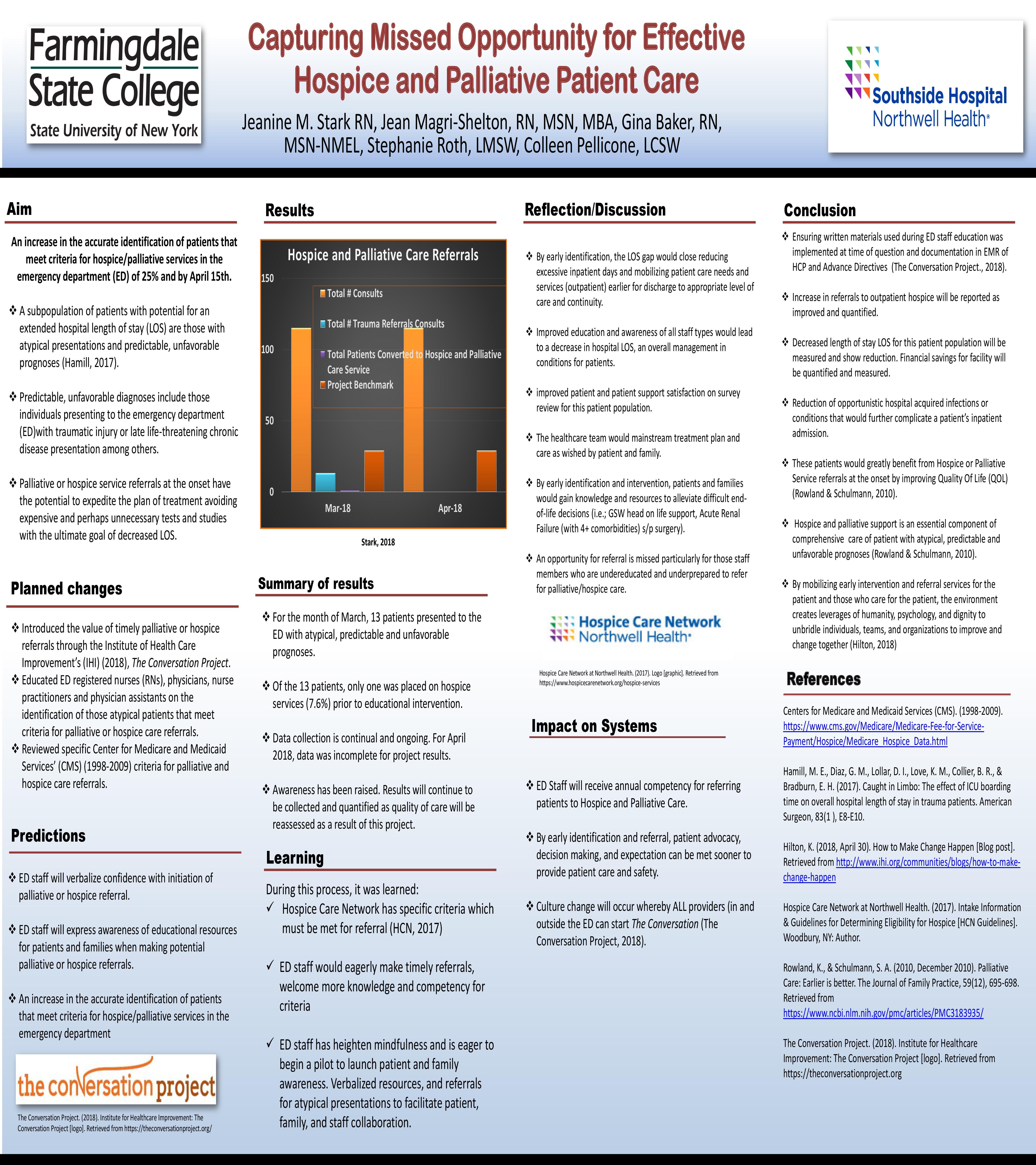 IHI Hospice Palliative Poster J Stark